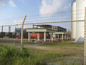 Desalination Plant Bonaire, near Aruba, a Dutch territory